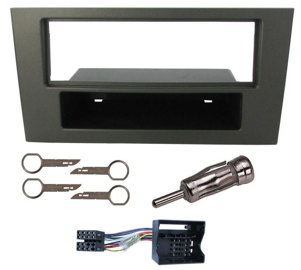 ford mondeo car cd radio stereo fascia facia panel adaptor. Black Bedroom Furniture Sets. Home Design Ideas