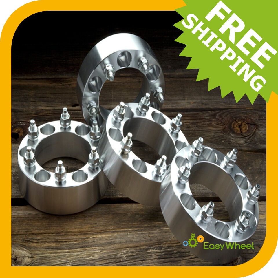4 To 5 Lug Adapters >> 6x135 Wheel spacers - 2 inch - Set of 4   eBay