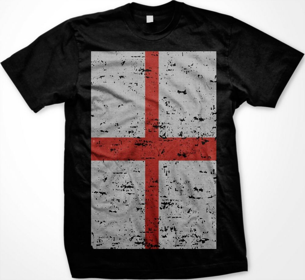 England english flag distressed nationality ethnic pride for How to make a distressed shirt