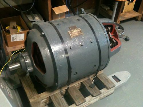 Dc motor 20hp 92ty10 800 2600 rpm for vaughn machine ebay for 20 hp dc motor