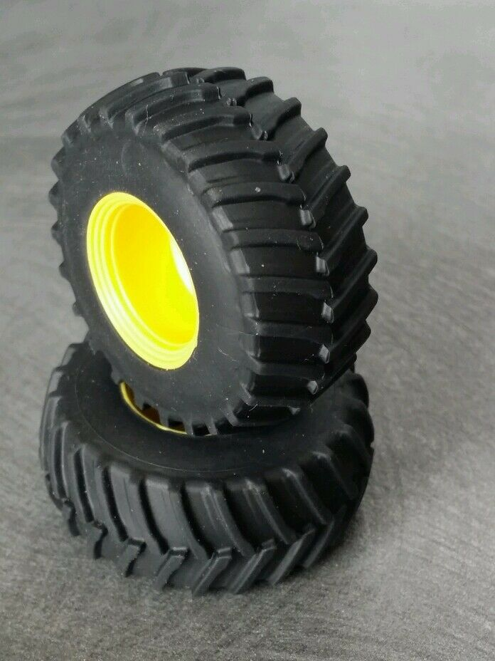Farm Tractor Wheels And Rims : Farm custom scratch r tractor tires yellow
