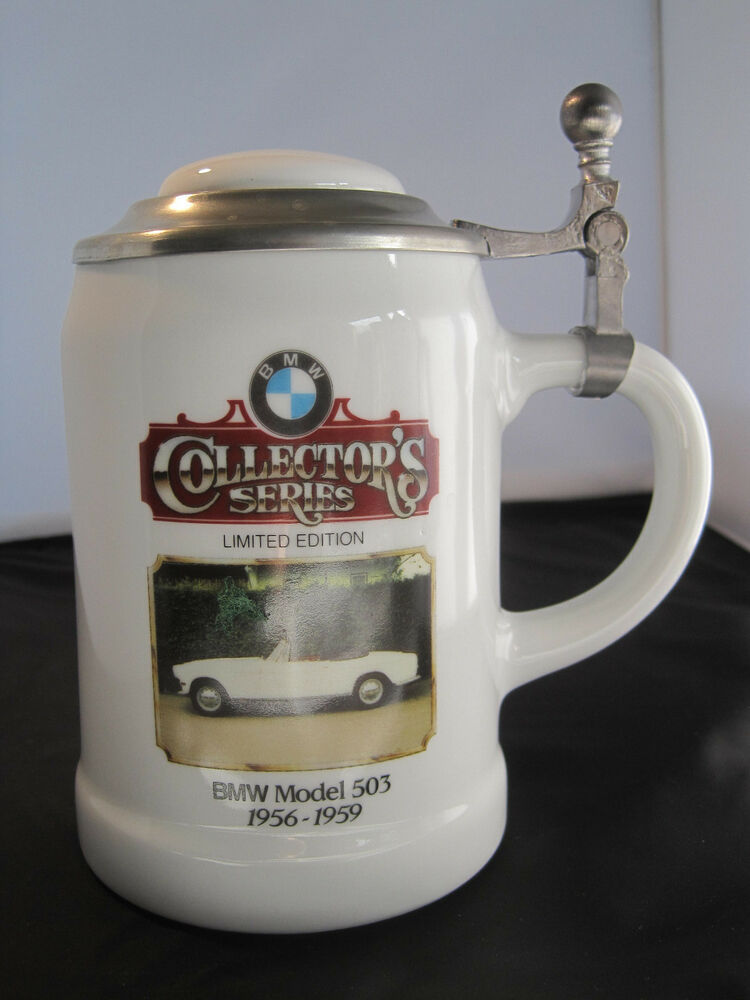 Bmw Collector S Series Limited Ed Porcelain Beer Stein