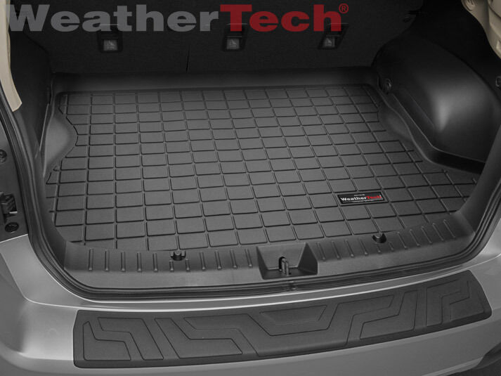 Details About Weathertech Trunk Mat Cargo Liner For Crosstrek Xv Impreza Black