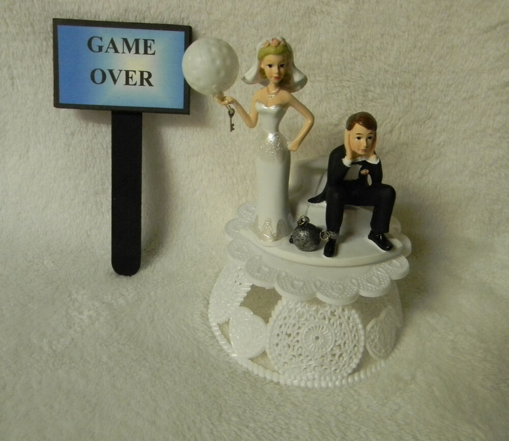 golf ball wedding cake topper wedding reception golf club amp sign 14842