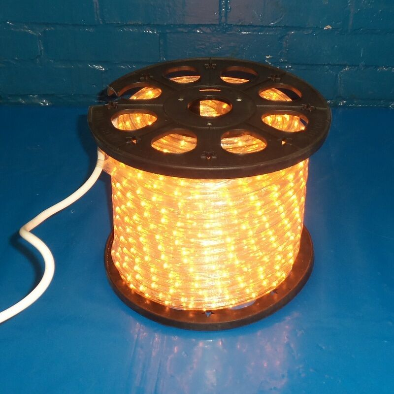 WIDE LOYAL 120V 60HZ FLEXILIGHT LED ROPE LIGHT IF2C PLASTIC EBay