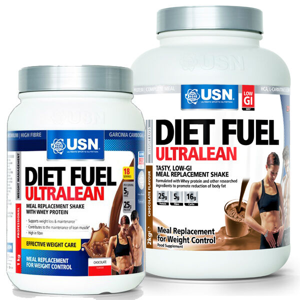 USN Diet Fuel Meal Replacement Weight Loss Shake 1kg/2kg ...