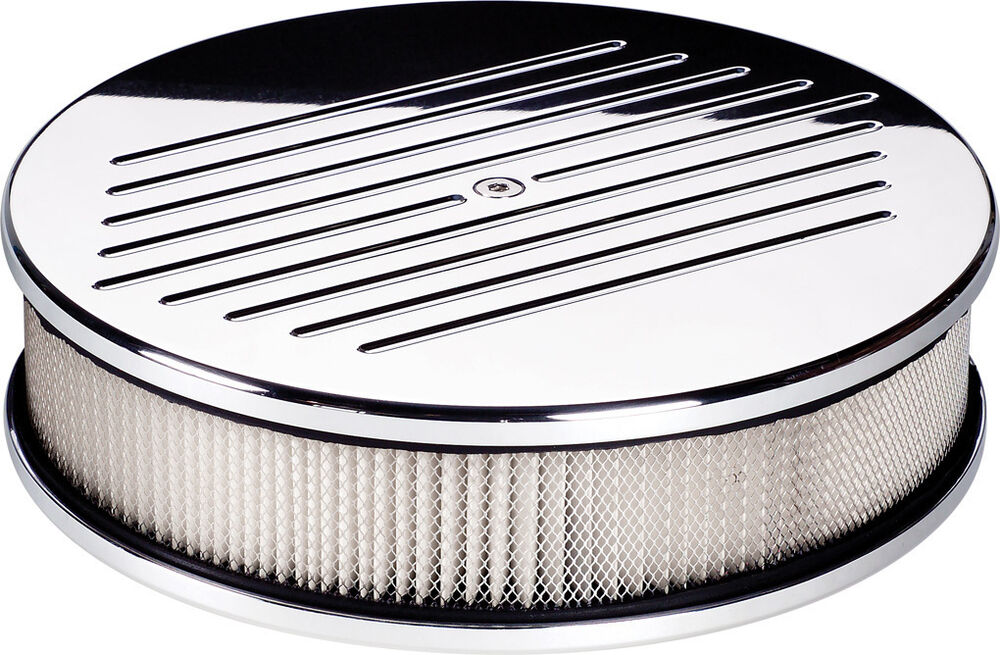 Billet Air Cleaner : Billet specialties ball milled polished aluminum air