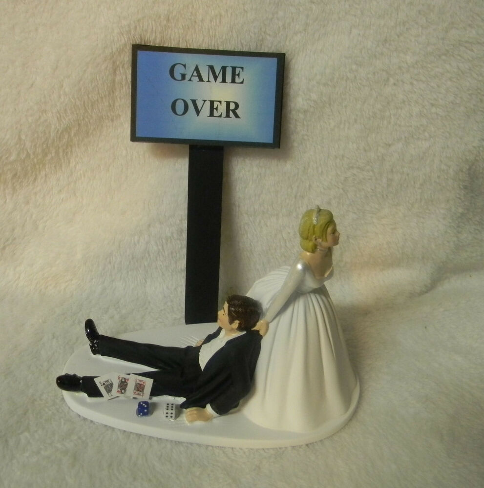 vegas wedding cake toppers uk wedding reception las vegas gambler dice cards 21576