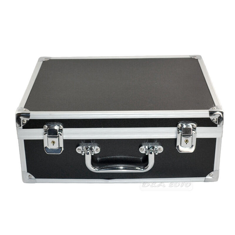pro large luxury aluminium tattoo set kit supplies empty carry box case storage ebay. Black Bedroom Furniture Sets. Home Design Ideas