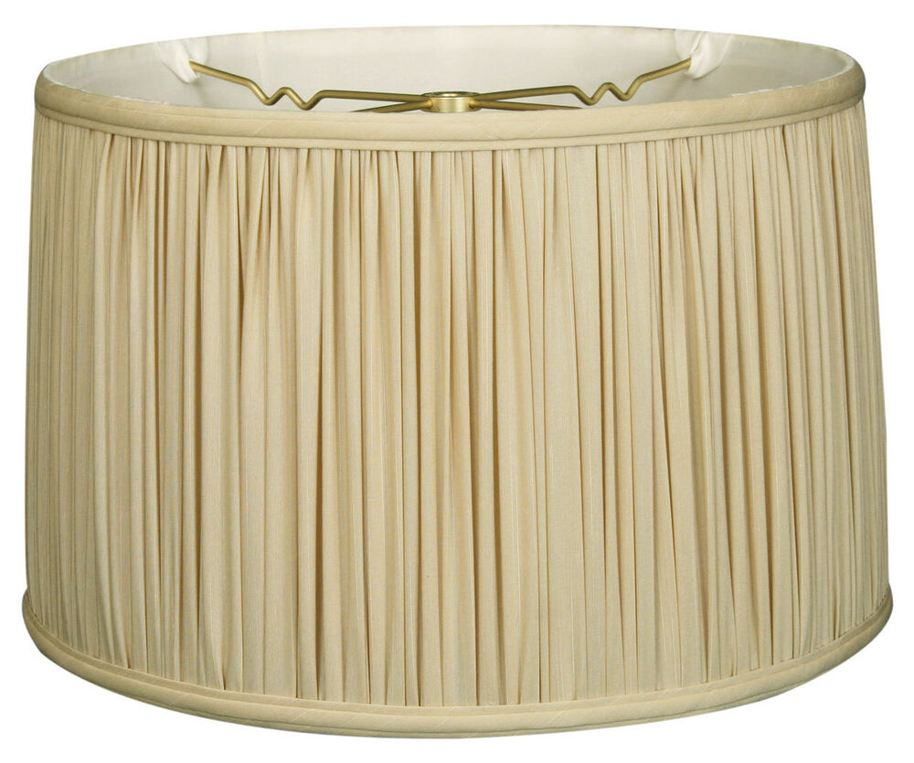 Shallow Drum Gather Pleat Lamp Shade Bs 750 Ebay