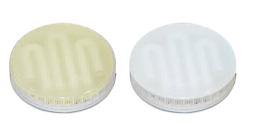 7w gx53 240v circular fluorescent light bulb in warm or cool white energy saving ebay. Black Bedroom Furniture Sets. Home Design Ideas