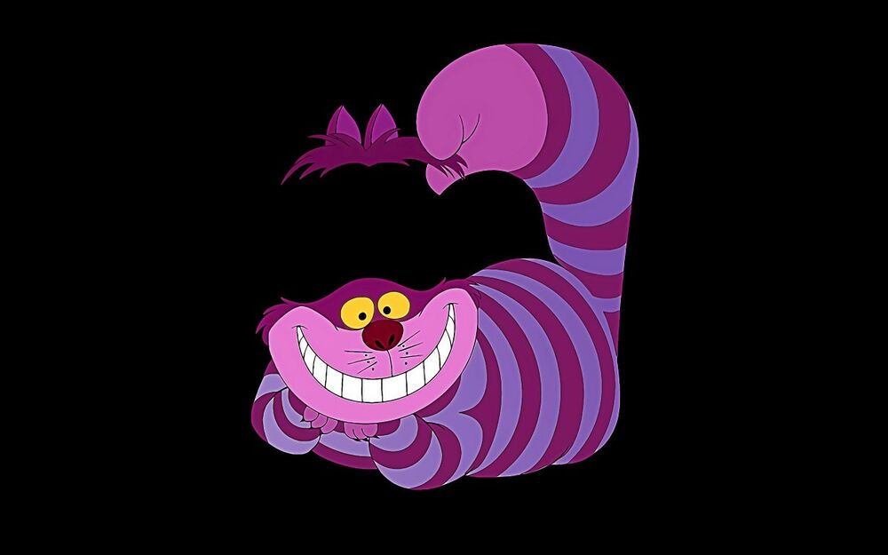 This is a photo of Declarative Cheshire Cat Printable