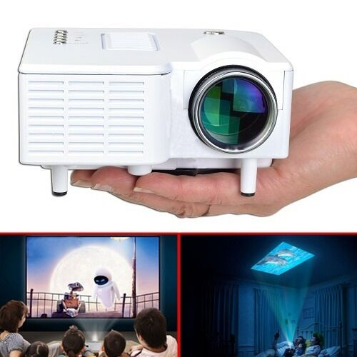 Led Lcd Projector X7 Home Cinema Theater Multimedia Led: Mini 1080P HD Multimedia LED Projector Home Cinema Theater