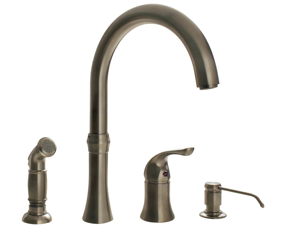 Faucet Direct : MR Direct 710 4 Hole Kitchen Faucet eBay