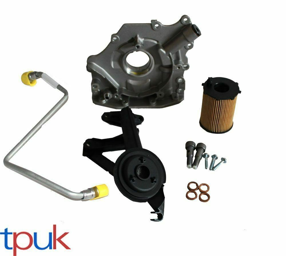 turbo fitting kit 1 6 hdi tdci 75 90 oil pipes banjo bolts oil pump oil filter ebay. Black Bedroom Furniture Sets. Home Design Ideas
