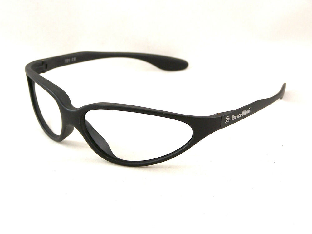 Matte Black Glasses Frame : New Old Stock Bolle 721 Sunglasses Matte Black Frames ONLY ...
