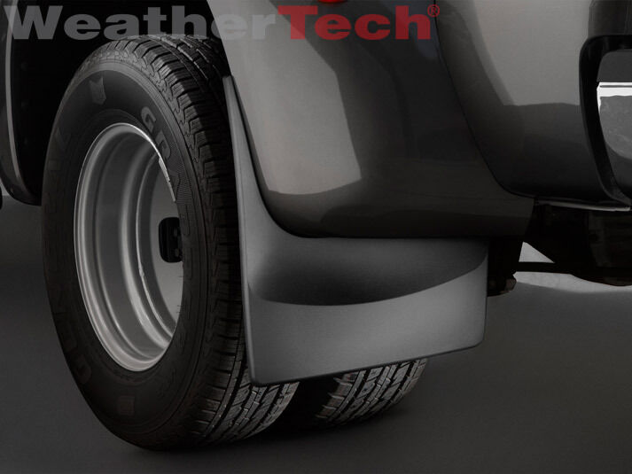 WeatherTech No-Drill MudFlaps - Ford Super Duty Dually - 2011-2016 - Rear Pair 787765129855 | eBay