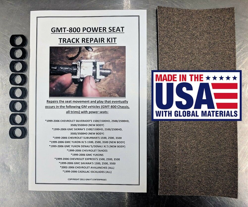 GMC /Chevy/GM Power Seat Track Repair Kit-Fixes Unwanted ...