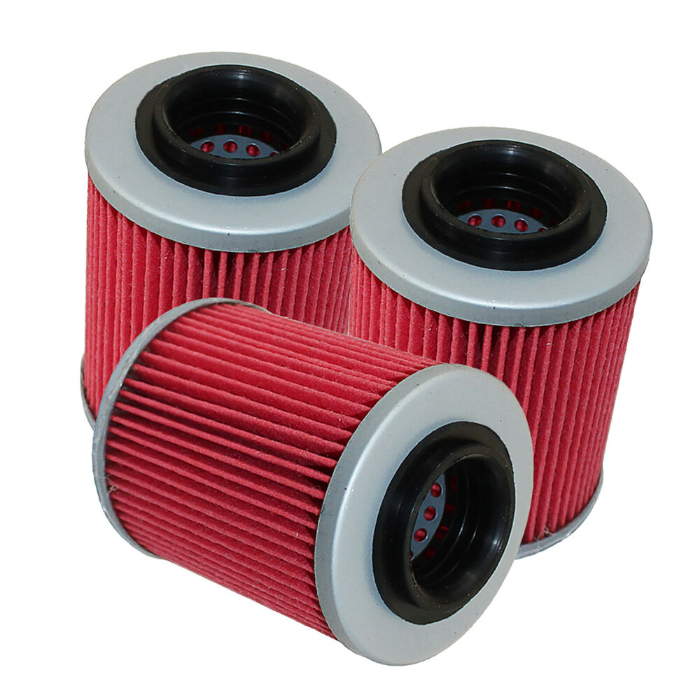 3 Pack Oil Filter Fits Can
