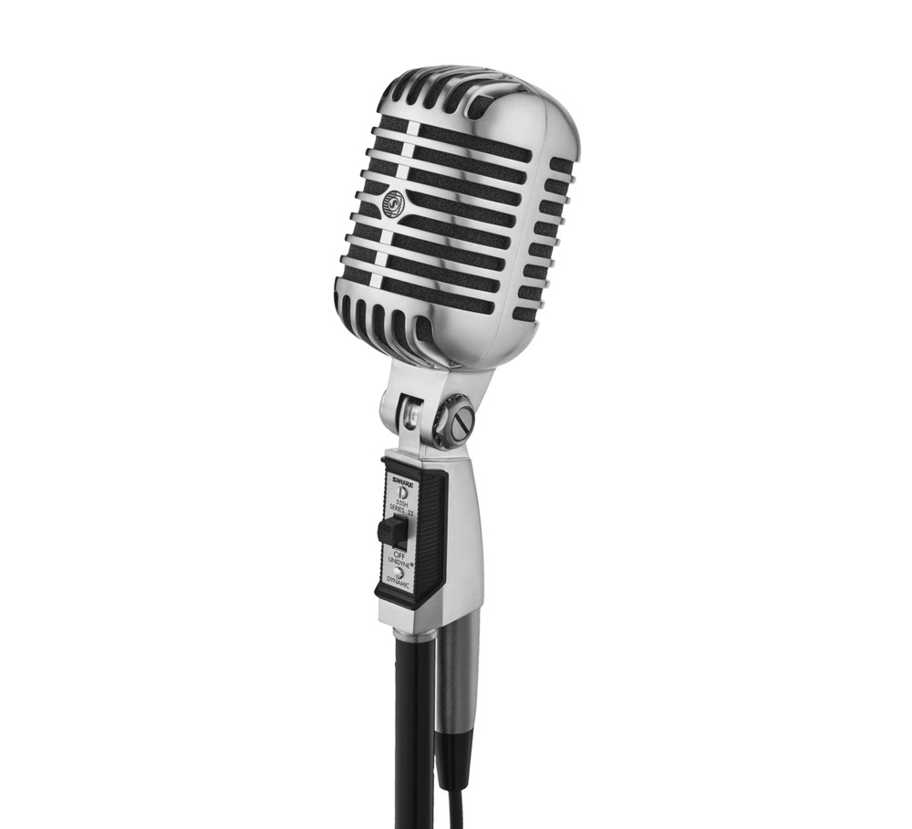 shure 55sh series 2 cardioid dynamic elvis microphone 42406051811 ebay. Black Bedroom Furniture Sets. Home Design Ideas
