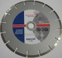 diamond cutting disc Diamond disc ø 125 mm DRONCO LT36 special Clinker