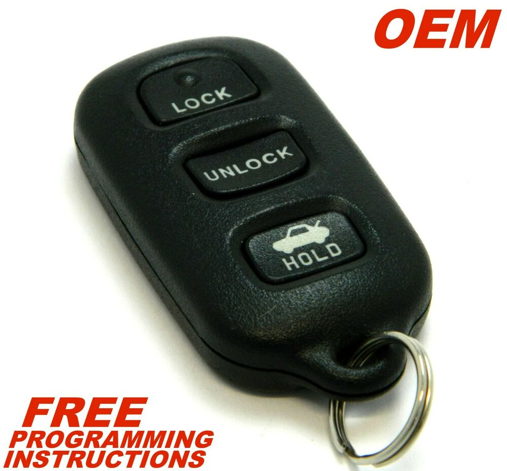 oem toyota camry solara keyless remote entry fob 89742 aa030 gq43vt14t ebay. Black Bedroom Furniture Sets. Home Design Ideas