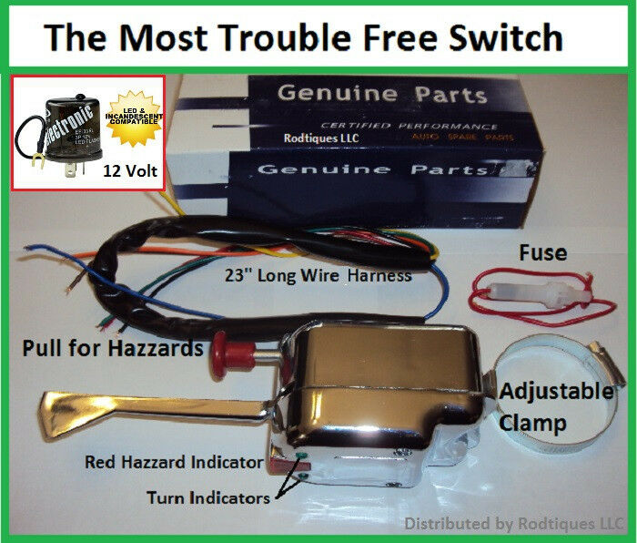 80008906 Car Truck Turn Signal Switch Dodge Ford Chevy Vintage Ebay