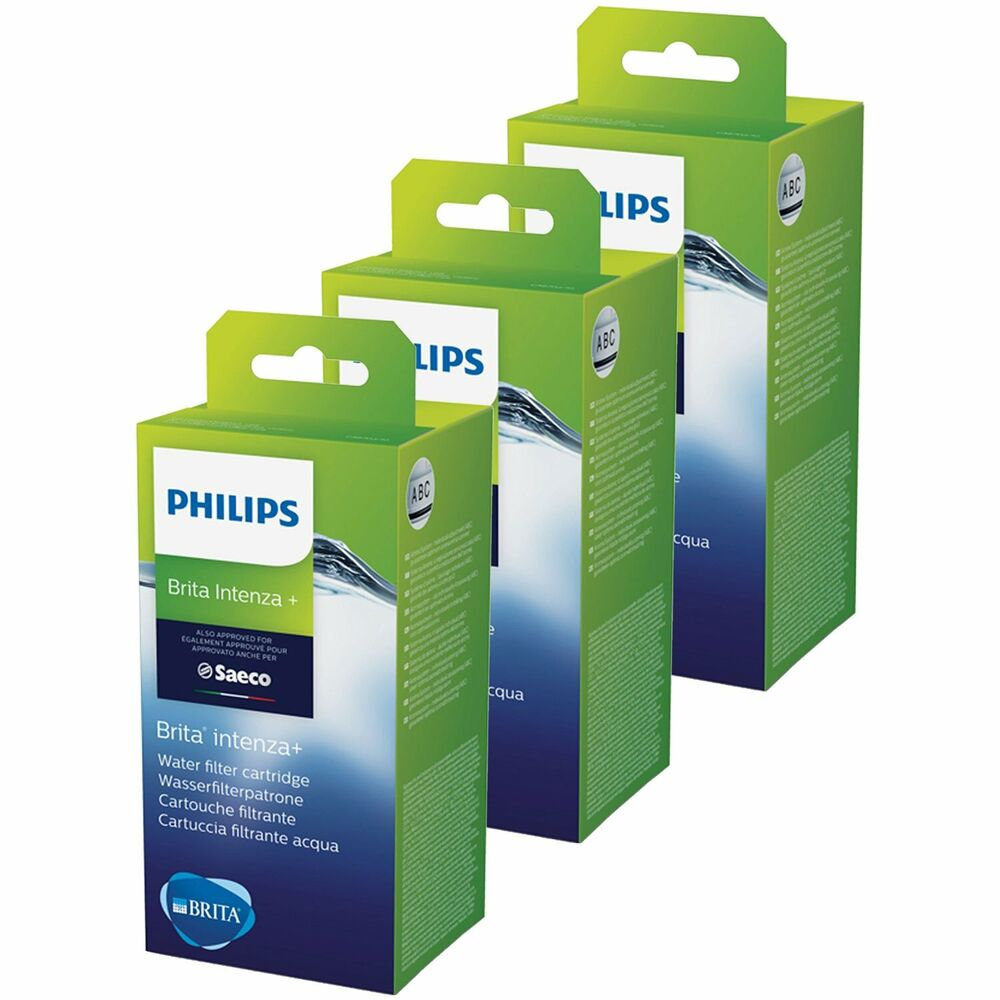3 x saeco brita claris wasserfilter f r intenza kaffeemaschinen ebay. Black Bedroom Furniture Sets. Home Design Ideas
