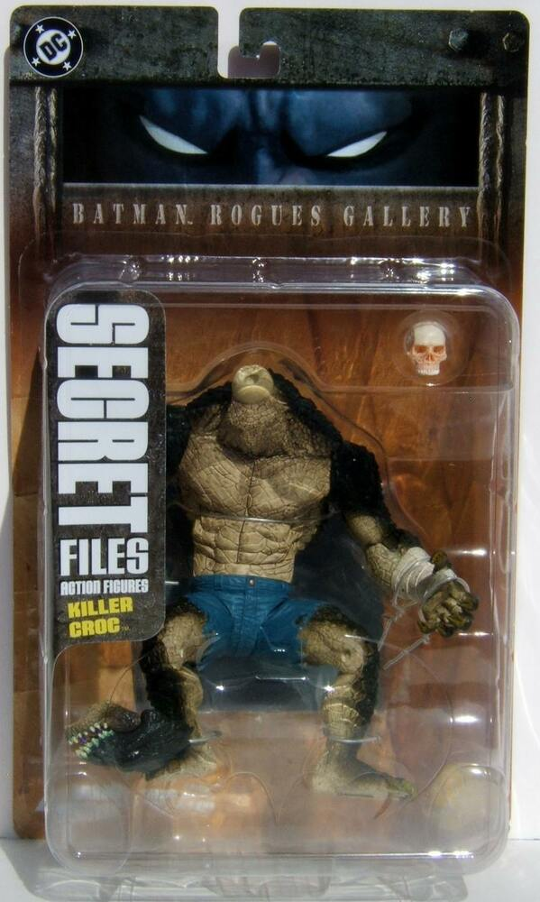 S L on Dc Universe Killer Croc Toys