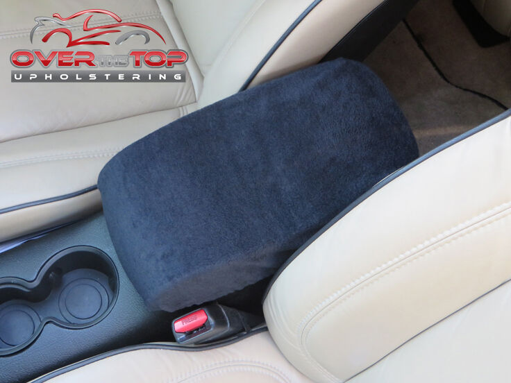 toyota camry t1l 1993 2001 black armrest cover for console lid ebay. Black Bedroom Furniture Sets. Home Design Ideas