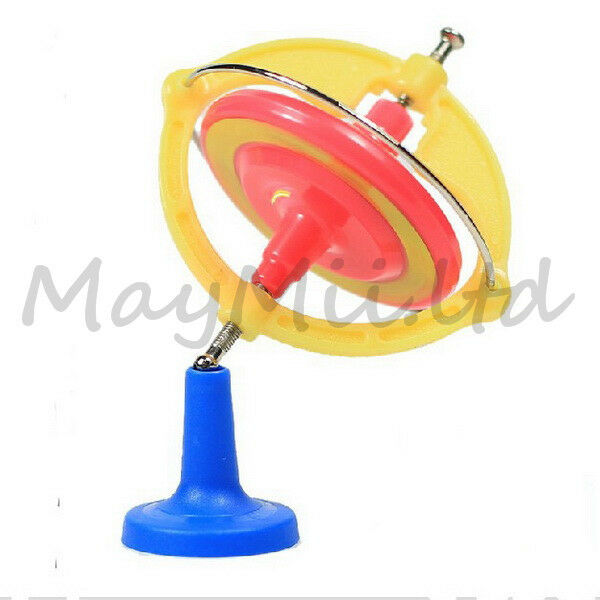 New Spin Toys : Spinning magic new gyroscope toy gyro music with led
