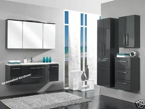 pelipal badm bel lunic 05 waschtisch sps usw 140 cm anthrazit neu ebay. Black Bedroom Furniture Sets. Home Design Ideas