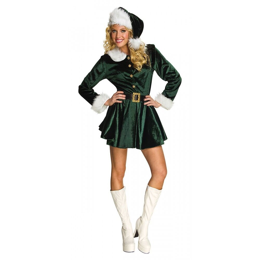 Adult elf outfit naked tube