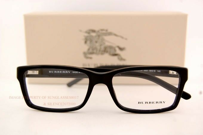 Brand New BURBERRY Eyeglasses Frames BE 2108 3001 Black ...