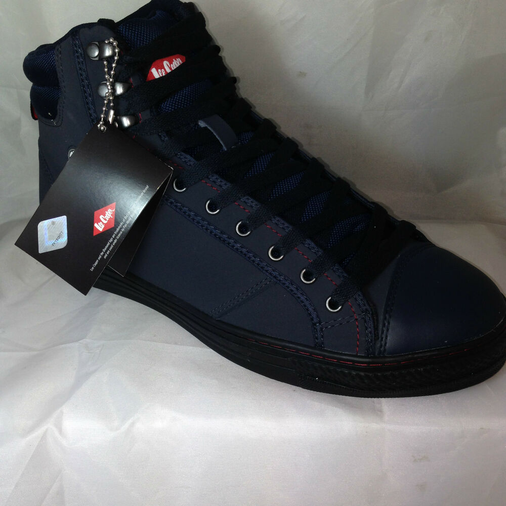 LEE COOPER SAFETY TRAINERS boots baseball STEEL TOE cap ...