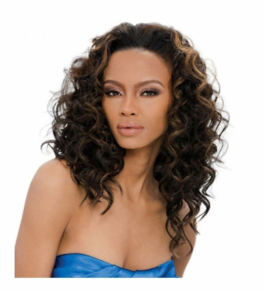 hair wave styles kenya outre weave synthetic half wig curly 4223