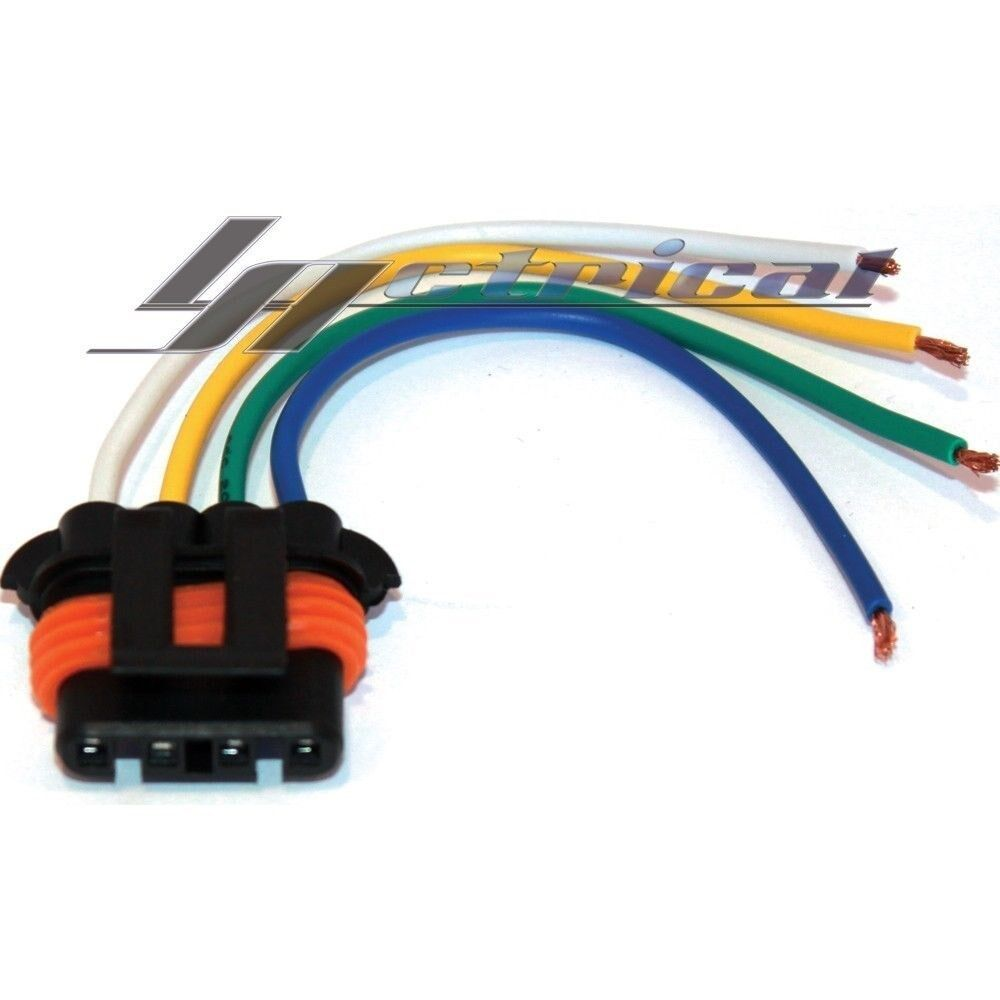 gm alternator harness new repair lead plug harness connector pigtail 4wire gmc ... 8 liter gm alternator wiring #14