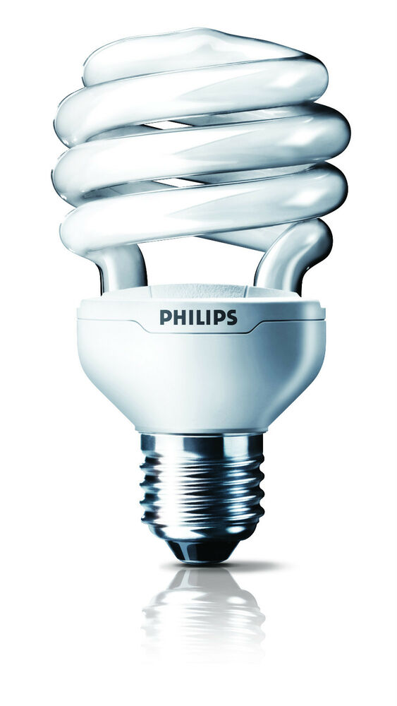 32w Philips Helix Energy Saver Bulb E27 B22 Spiral Cool