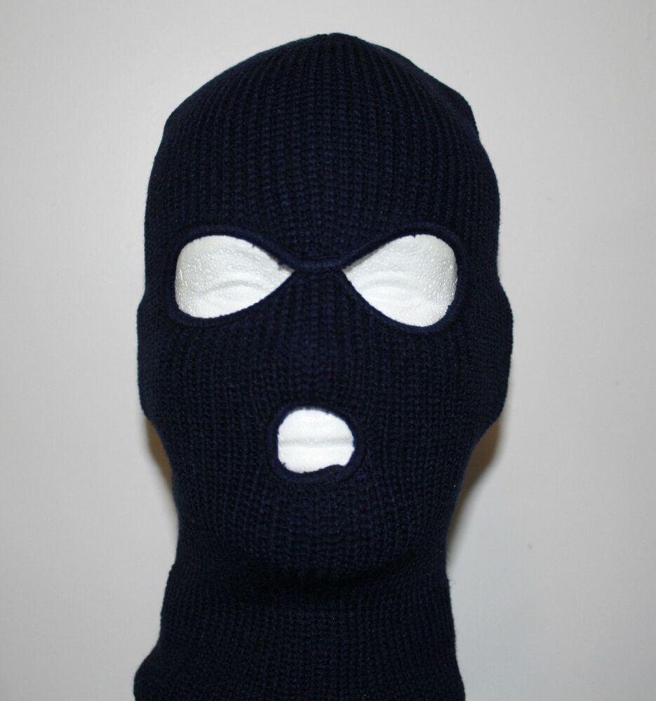 3 Hole Ski Mask | eBay