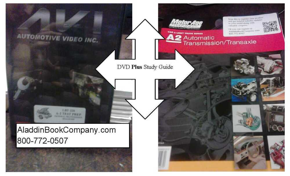 Ase Dvd Study Guides Automotive Training Package Av1 A1 A9