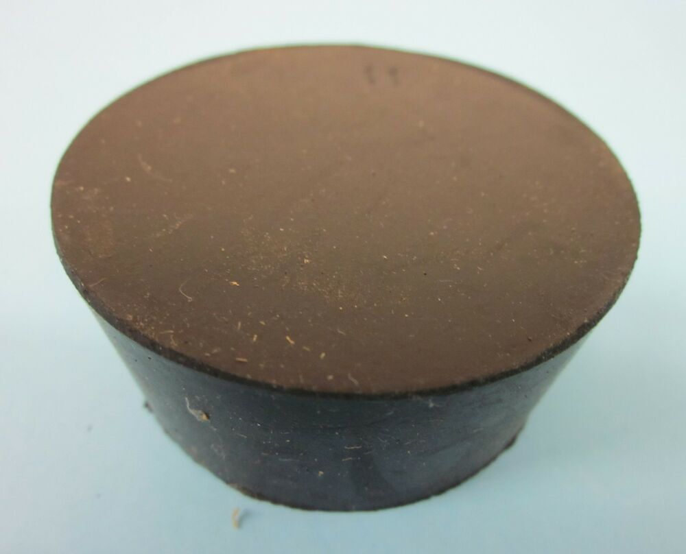 New Solid 11 Tapered Rubber Stopper Plug 1 Ebay