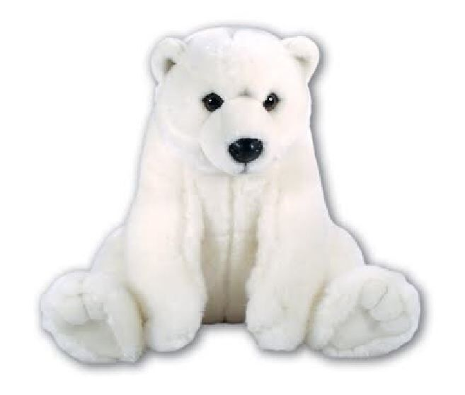 Polar Bear Toys : New large cm ark toys white polar bear soft cuddly toy