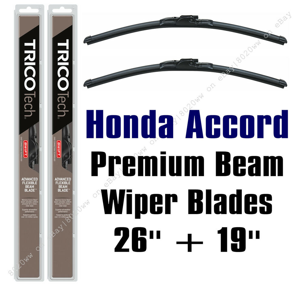 2008 2016 honda accord wiper blades 2 pack premium beam. Black Bedroom Furniture Sets. Home Design Ideas