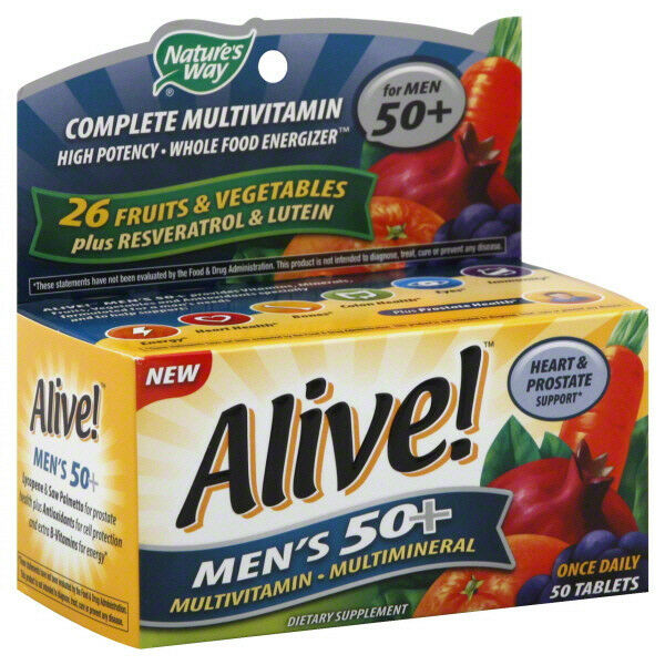 Where Are Nature S Way Alive Vitamins Made