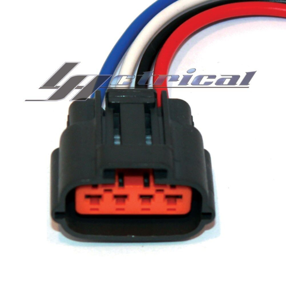new repair harness 4 wire pin pigtail connector for mitsubishi alternator ebay