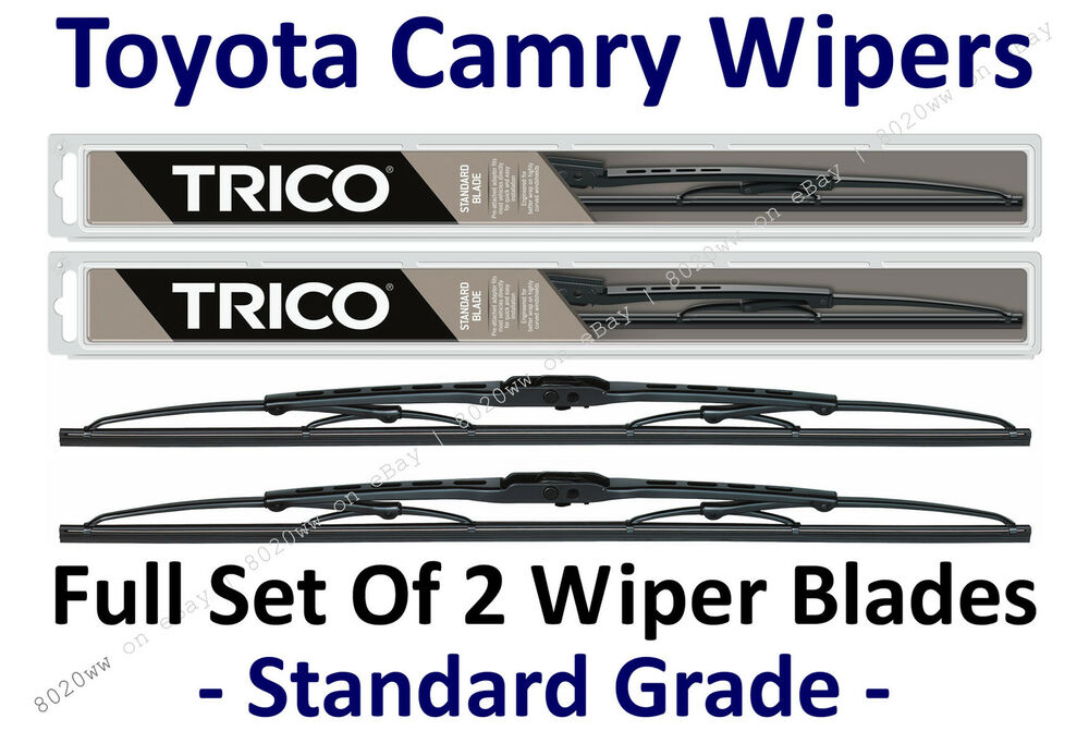2018 toyota camry windshield wiper size. Black Bedroom Furniture Sets. Home Design Ideas
