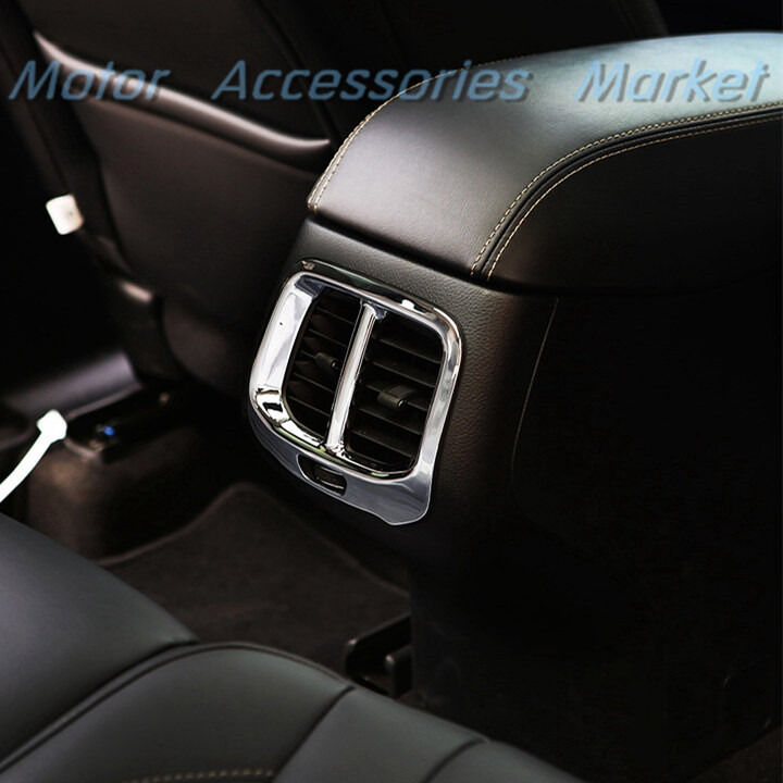 2015 Jeep Cherokee Interior: New Interior Chrome Rear Air Vent Cover Trim For JEEP