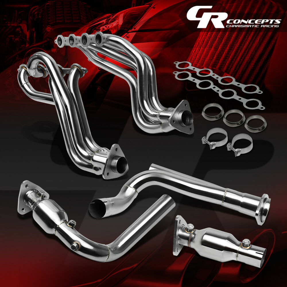 FOR GMC/CHEVY GMT800 V8 ENGINE TRUCK/SUV STAINLESS