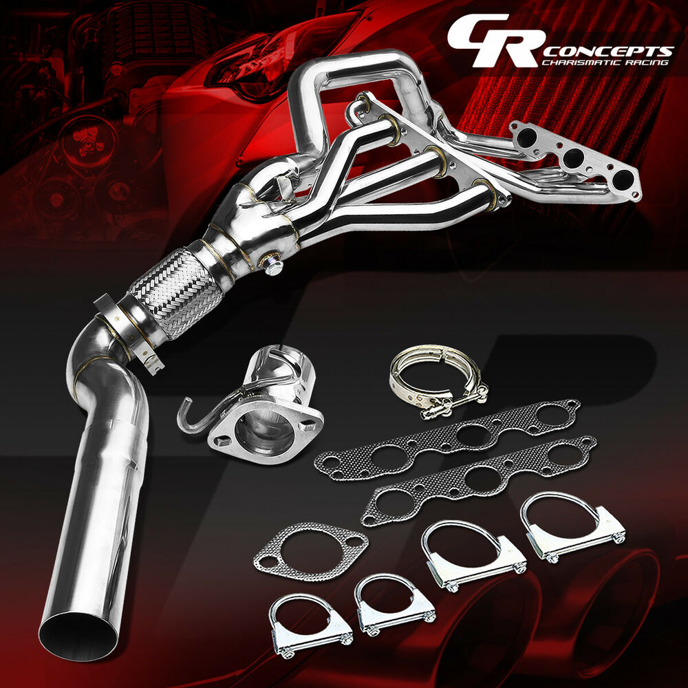 For Grand Prix Regal Impala Monte Carlo 3 8l V6 Supercharged Stainless Header Ebay