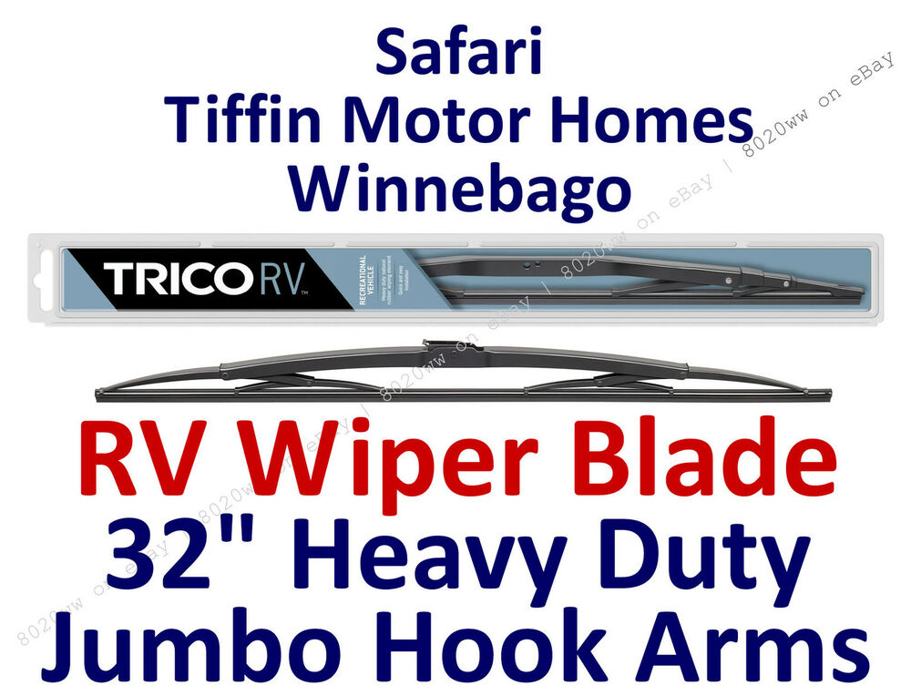 Wiper Blade Safari Tiffin Motor Homes Winnebago Rv Hook